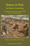 History in Print Battle of Gettysburg Book image