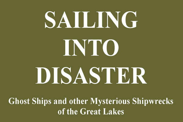 Sailing into Disaster Book Cover Constance M. Jerlecki