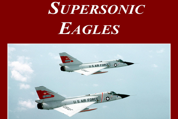 Supersonic Eagles Book Cover W.D. Becker