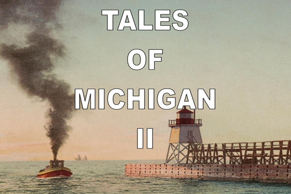 Tales of Michigan II Book Cover Constance M. Jerlecki