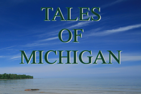 Tales of Michigan Book Cover Constance M. Jerlecki